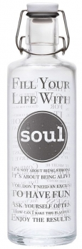 Soulbottles - Fill your Life with Soul - 1,0L